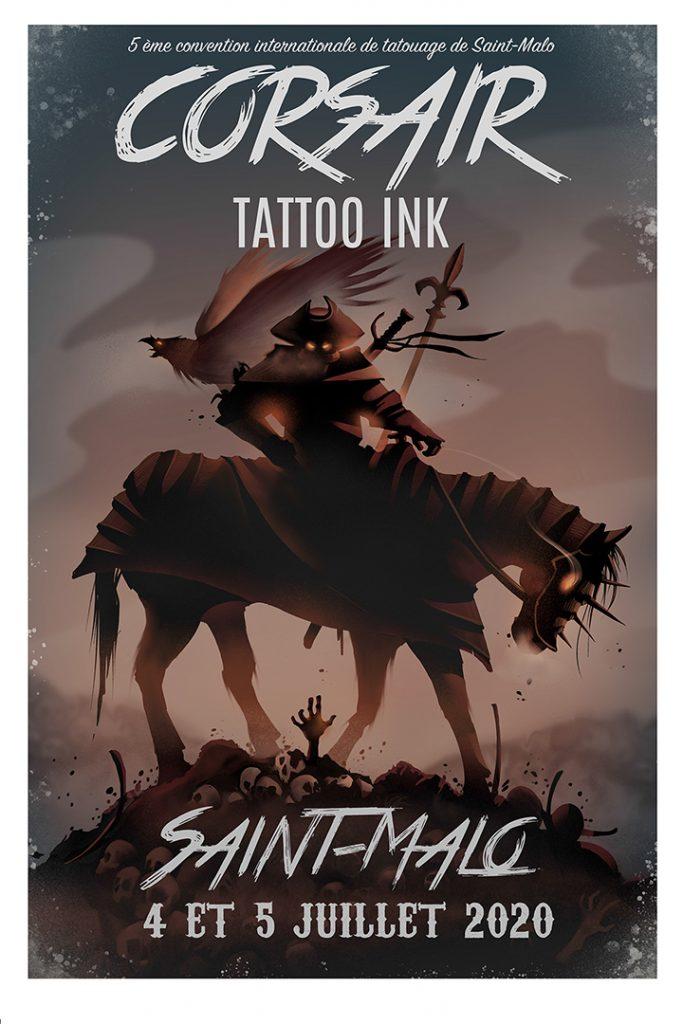 Corsair Tattoo Ink 2020 : découvrez l'affiche officielle !