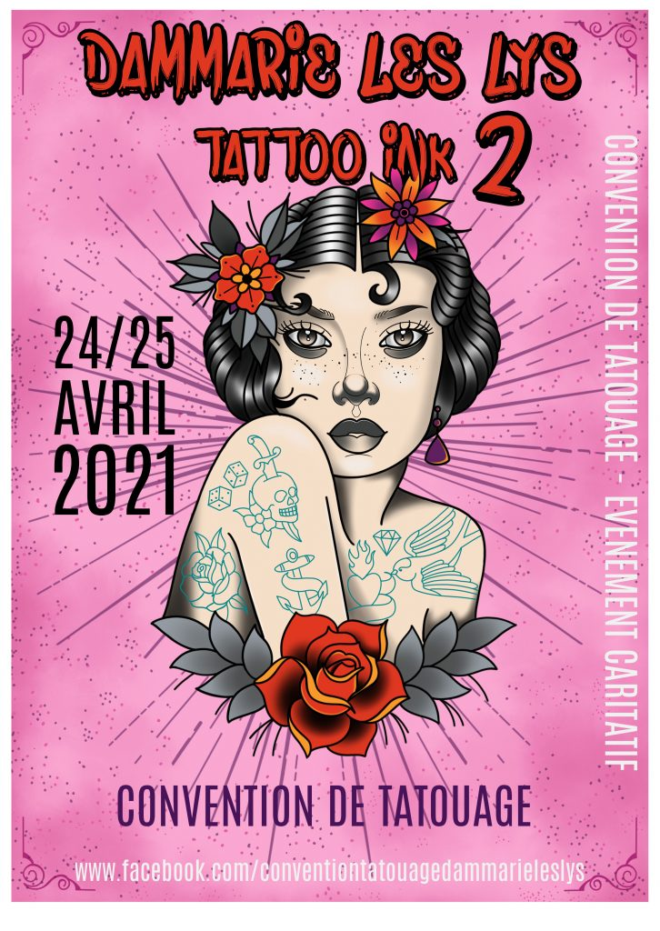 Calendrier Convention Tatouage 2021 Calendrier Conventions 2021   Kalil Tattoo Family